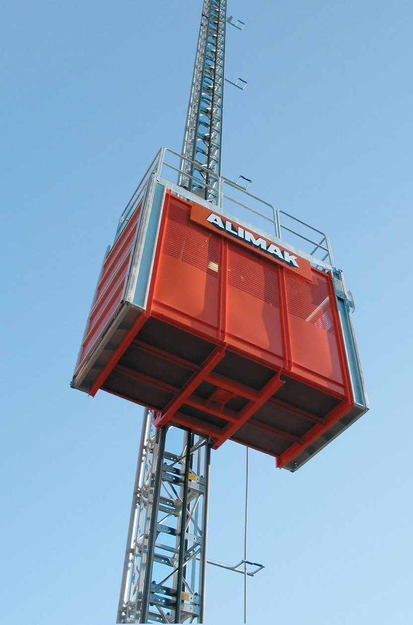 Scando 650 Hoist From Alimak Ab For Construction Pros