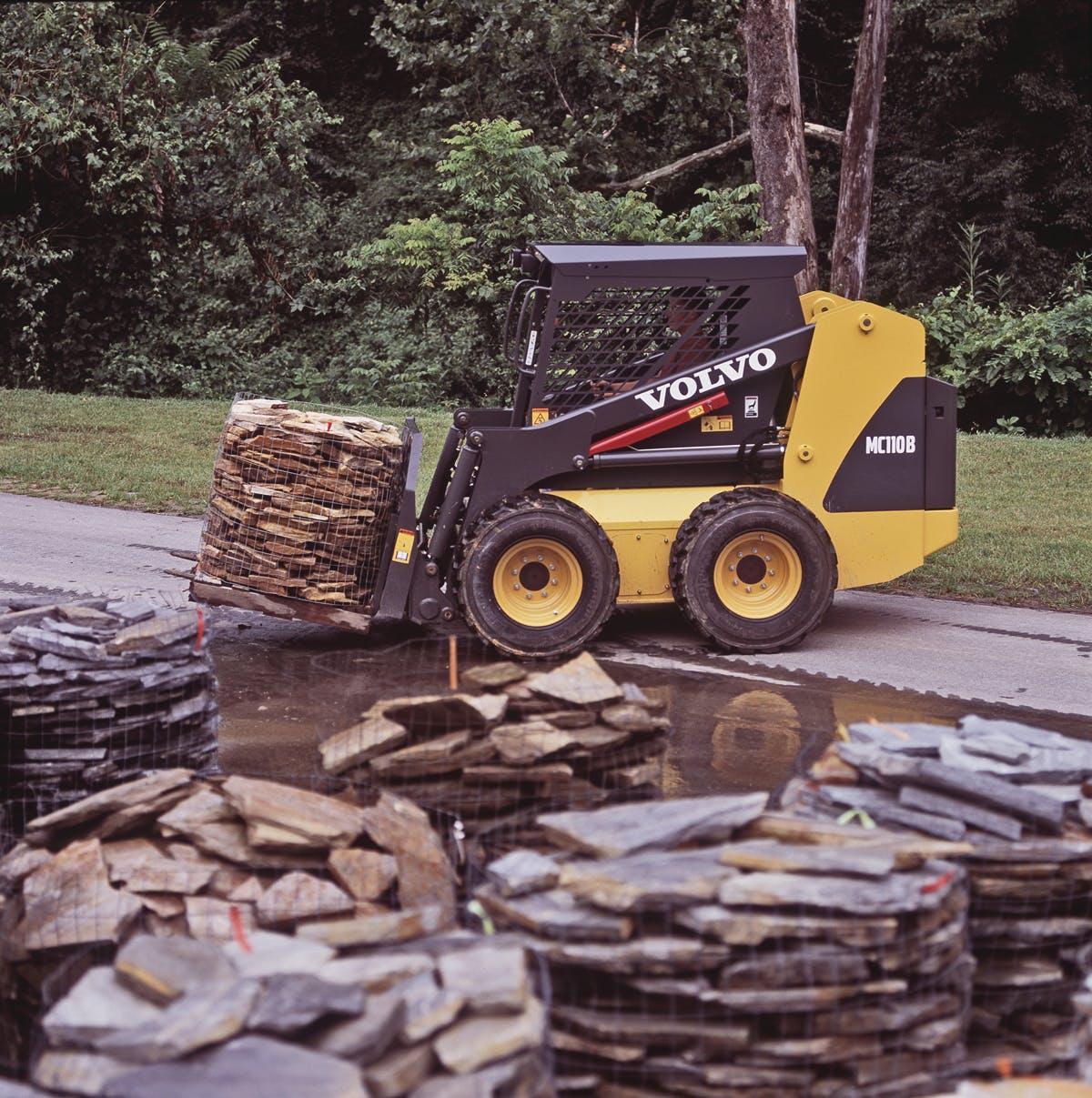 Skid Steer Loader Mc110b From  Volvo Construction