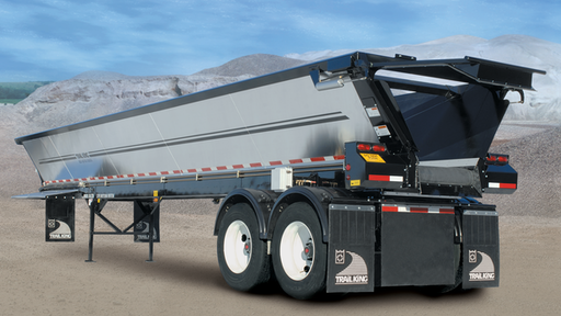 Live Bottom Trailer From Trail King Industries Inc