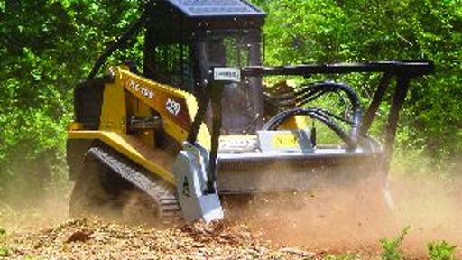 How To Equip A Skid Steer For Safe Land Clearing With A Mulcher