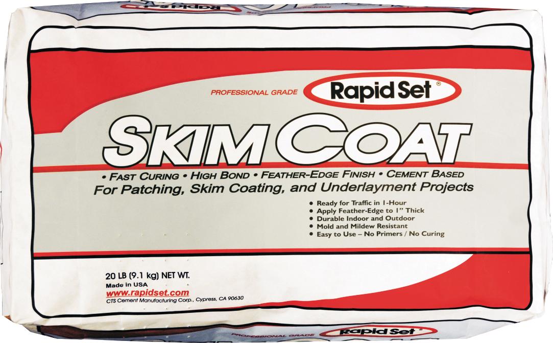 Rapid Set 71010025 25lb Stucco Patch Stucco Repair Material Hd Supply