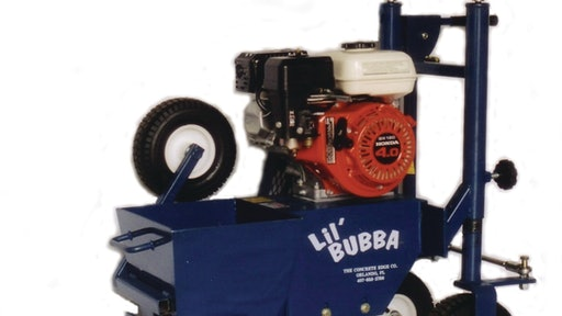 Lil Bubba Auger Curb Machine From The Concrete Edge Company For Construction Pros