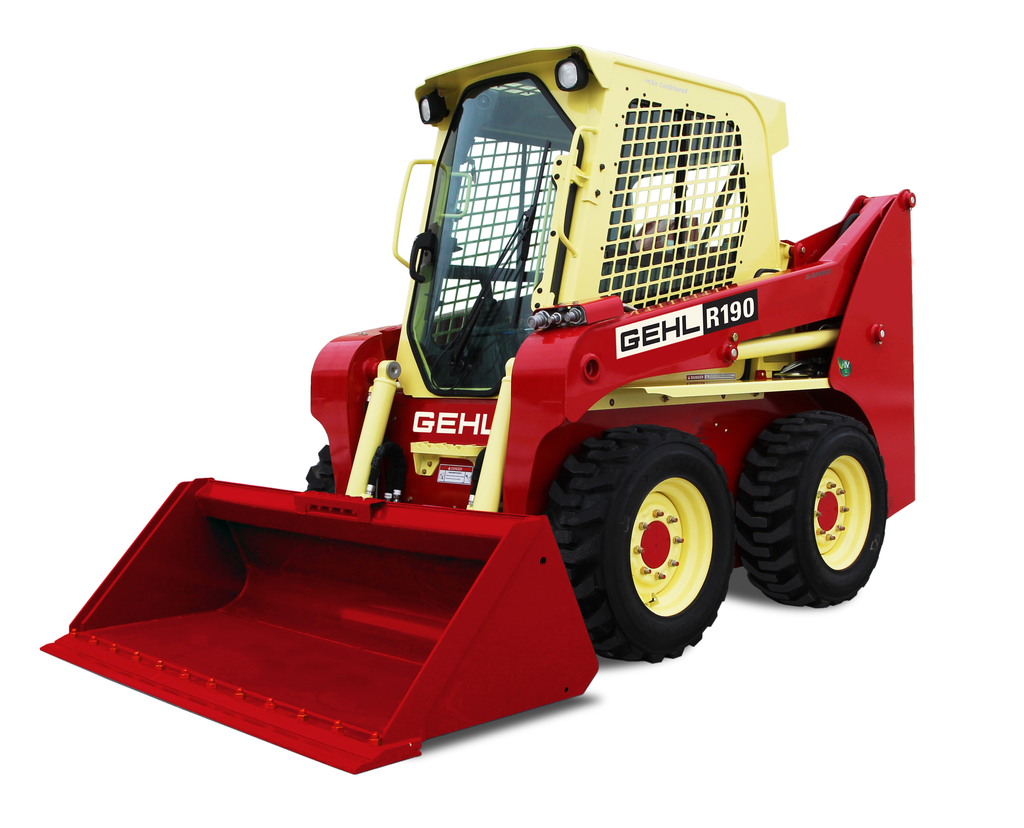 Win A Throwback Gehl R190 Skid Steer For Construction Pros