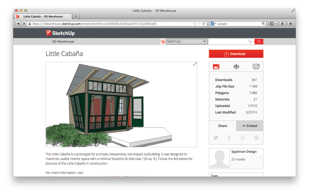 Sketchup With Expanded 3d Warehouse From Trimble Navigation Ltd For Construction Pros