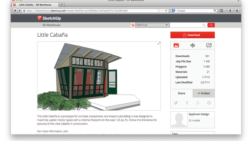 Sketchup With Expanded Warehouse