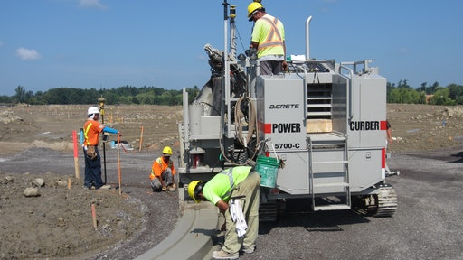 Gps Machine Control Curbs Costs On Huge Residential Subdivision For Construction Pros