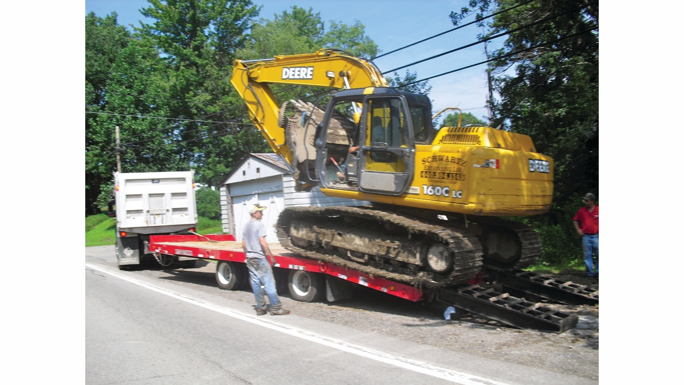 What To Know Before Using A Dump Truck To Tow Equipment For Construction Pros