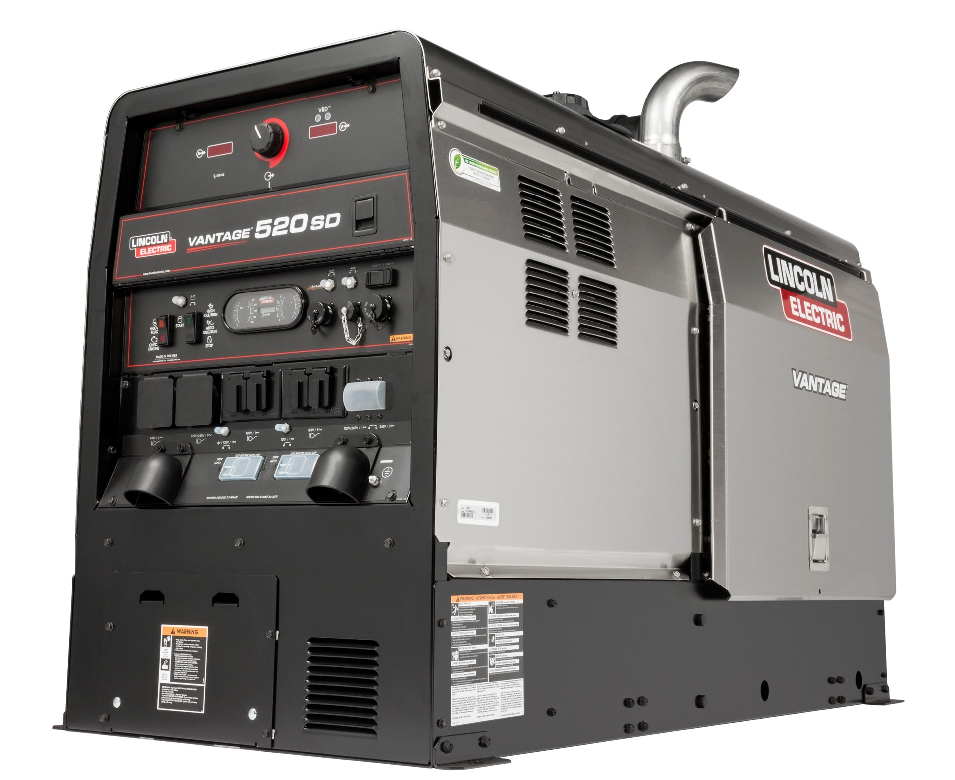 Lincoln Electric Vantage 520 Sd Welder Generator From Lincoln Electric Co For Construction Pros