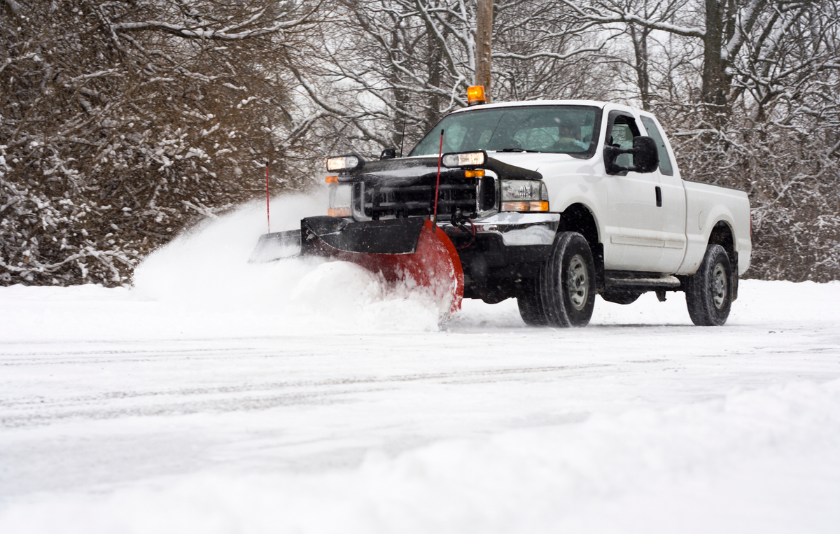 V-Plow Verses Straight Blade Versus Winged Plows for Snow Plowing