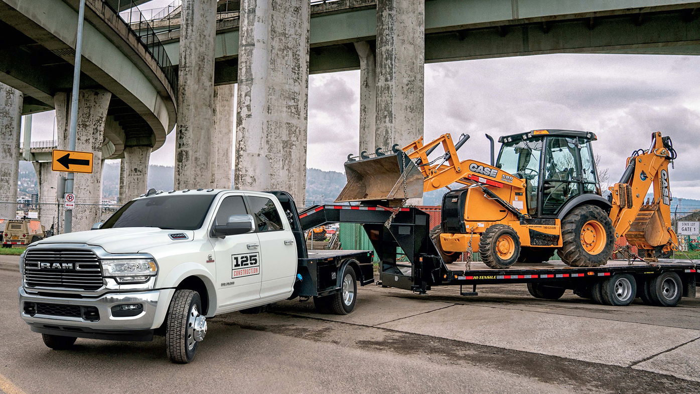 2019 Ram Chassis Cab Trucks Lift Towing Capacity To 35 220 Lbs From Ram Trucks For Construction Pros