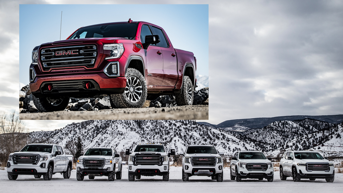 GMC Extends AT4 Premium Off-Road Truck Package Across 2021 ...