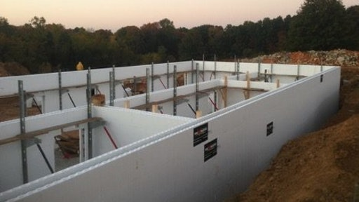Host Insulating Concrete Forms Training, How To Build Icf Basement