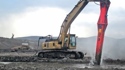 Allu Processor Working On Mine Tailings At The Czech Republic