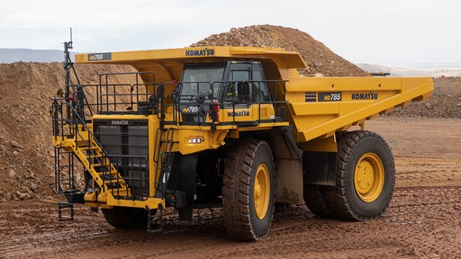 Komatsu HD785-8 Off-highway Truck From: Komatsu America Corp. | For  Construction Pros