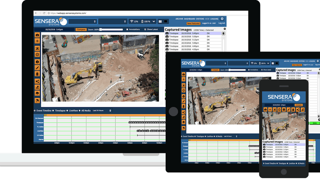 Camera technology protects construction sites (image)