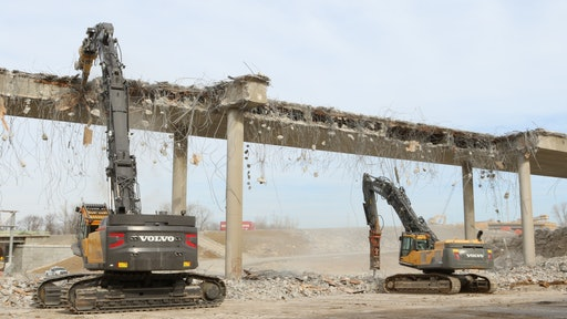 Double Bridge Demolition Done in Under Three Days | For Construction Pros