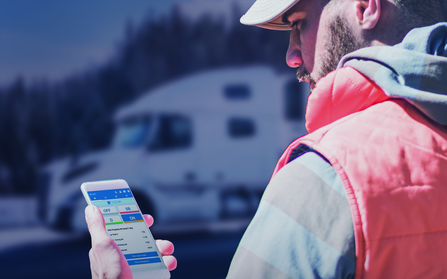 A few of the driver behavior metrics that fleets can monitor with Geotab telematics include speeding over the posted speed limit, harsh braking, sharp cornering, backing up while driving, after hours use of vehicle and riving with no seat belt.