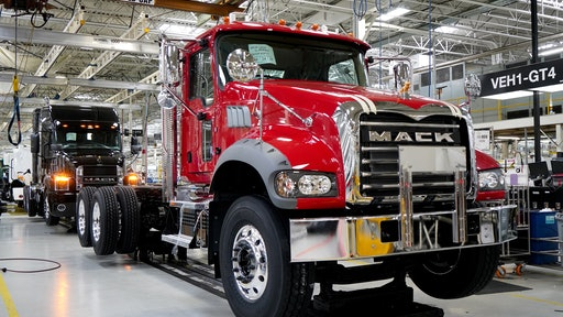 "Mack Trucks has achieved a major milestone at its Lehigh Valley Operations (LVO) in Macungie, PA, with the completion of an $84 million renovation dubbed project ""Reborn."""
