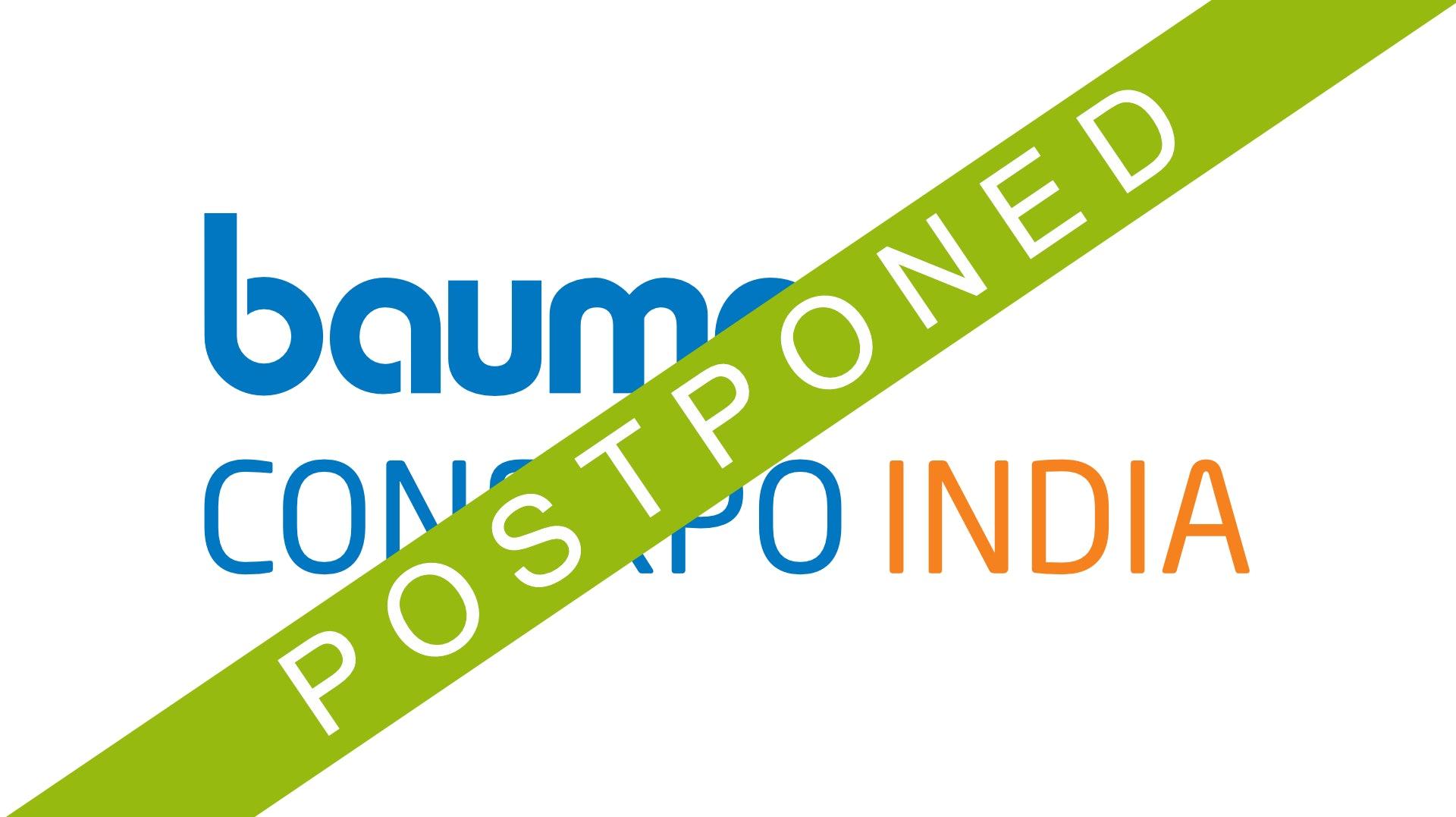 Bauma 2021 Conexpo India Postponed For Construction Pros