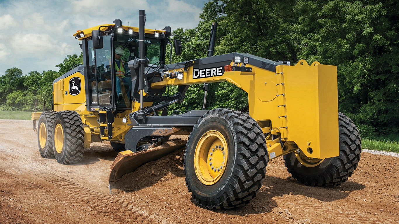John Deere Adds Automation Features to GP Motor Graders | For Construction  Pros