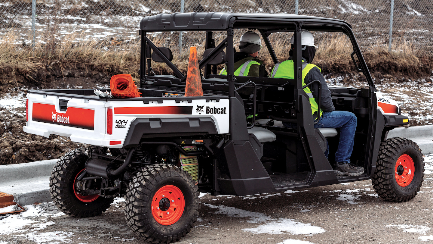 At the end of the day, pickup trucks are expensive. They are expensive to maintain. They are large. They are not emissions friendly. UTVs are lower cost. They are extremely versatile machines and they do exactly what a pickup truck will do at a smaller capacity.
