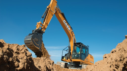 Factory fit 2D and 3D systems from Leica Geosystems will be available on Case D Series excavators up to the Case CX 350D.