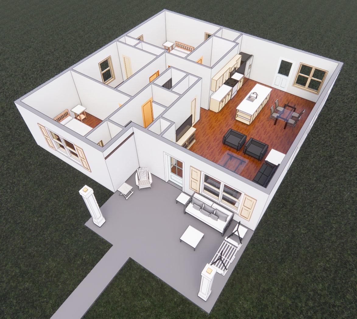 Interiors No Roof 1