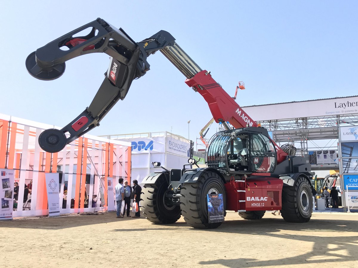 Magni will showcase how its telehandlers can be used in mining applications.